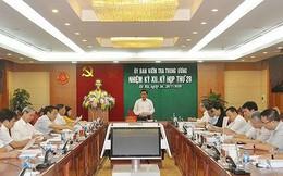 Đề nghị Bộ Chính trị xem xét kỷ luật Trung tướng Bùi Văn Thành