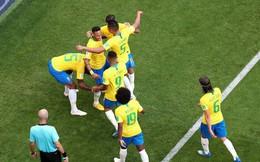 """Brazil xác lập kỷ lục vô tiền khoáng hậu trong lịch sử World Cup sau màn """"đè bẹp"""" Mexico"""