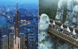 Giới trẻ Việt Nam lại thêm tự hào khi khoe với bạn bè quốc tế 2 biểu tượng du lịch mới cực hoành tráng này