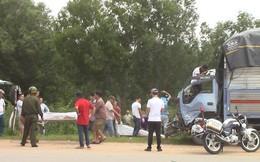 Tai nạn liên hoàn giữa 2 xe tải và xe ba gác, 3 người chết tại chỗ