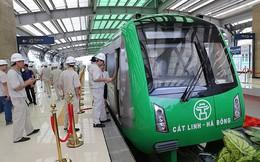 Bắt đầu chạy thử nghiệm tàu đường sắt Cát Linh - Hà Đông