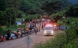 Những trở ngại trong đợt 2 giải cứu đội bóng Thái Lan kẹt trong hang