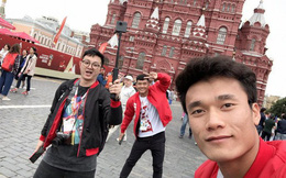 Thủ môn Bùi Tiến Dũng sang Nga trao giải 'Cầu thủ xuất sắc nhất trận bán kết World Cup 2018'