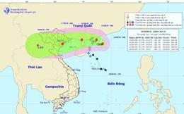 Bão số 4 tiến vào vùng biển Quảng Ninh đến Nam Định