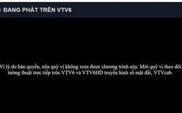 Giám đốc VTC: VTV6 phải dừng phát sóng trận U23 Việt Nam - U23 Bahrain do tự ý chèn nội dung khác