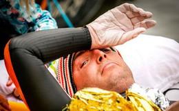 """Từng đánh bại bệnh bạch cầu rồi giành HCV Olympic, VĐV này vừa hoàn thành chặng """"bơi marathon"""" dài 163km trong 55h để gây quỹ nghiên cứu ung thư"""