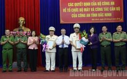 Bắc Ninh bổ nhiệm 2 Phó Giám đốc Công an tỉnh