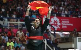 Pencak Silat giành 2 HCV liên tiếp trong 10 phút, đoàn Việt Nam thăng hoa tột bậc