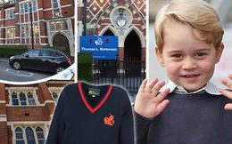 """Choáng ngợp với chương trình học và thực đơn """"sướng như ông hoàng"""" của Hoàng tử George tại trường"""