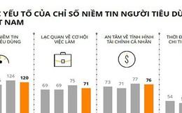 Chỉ số niềm tin người tiêu dùng quý II giảm điểm