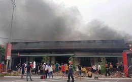 Cháy lớn 5 quán karaoke liền kề tại TP Móng Cái