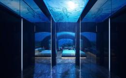 Có gì bên trong khách sạn dưới nước đầu tiên trên thế giới sắp mở cửa tại thiên đường Maldives?