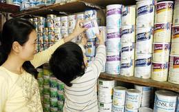 Sữa bột trẻ em đua tăng giá?