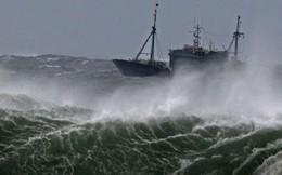 Vùng áp thấp có khả năng mạnh thêm, Biển Đông mưa giông mạnh