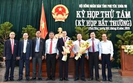 Ông Phạm Đại Dương được bầu giữ chức Chủ tịch UBND tỉnh Phú Yên
