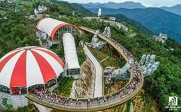 [Clip] Cầu vàng Đà Nẵng nổi tiếng chỉ sau 2 tháng ra mắt, lọt top 100 điểm đến tuyệt vời nhất thế giới