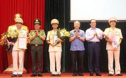 Công an Hà Nội có ba Phó giám đốc mới