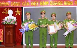 Bổ nhiệm nhân sự cấp cao của Cảnh sát PCCC