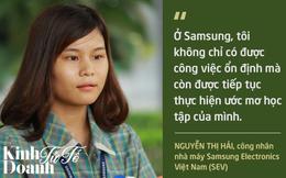 Giấc mơ đại học của một công nhân nhà máy Samsung Việt Nam