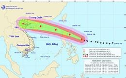 Siêu bão MANGKHUT áp sát Biển Đông