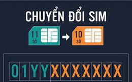 Hôm nay, 60 triệu thuê bao 11 số bắt đầu chuyển đổi