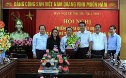 Ông Lê Văn Lân giữ chức Phó Trưởng Ban Nội chính Trung ương