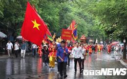 Ảnh: Đồ Sơn trống giong cờ mở khai mạc Lễ hội chọi trâu 2018