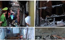 Ảnh: Hiện trường bên trong vụ cháy gần Bệnh viện Nhi Trung ương