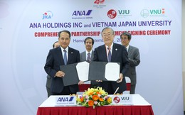 Đại học Việt Nhật hợp tác toàn diện với ANA Holdings của Nhật Bản