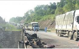 Thông tuyến cao tốc Nội Bài – Lào Cai sau sự cố cháy xe bồn chở xăng