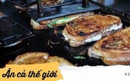 Trải nghiệm văn hóa ẩm thực đường phố London với tiệm bánh mì nướng phô mai lưu động