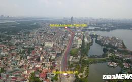 Ảnh: Dự án cầu vượt An Dương - Thanh Niên hơn 300 tỷ đồng ở Hà Nội sắp hoàn thành