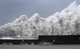Xe tải lật nghiêng, mái nhà bị xé toạc trong siêu bão mạnh nhất ¼ thế kỷ ở Nhật