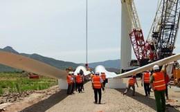 Nhiều dự án điện gió ì ạch
