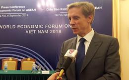Giám đốc WEF châu Á Justin Wood: CMCN 4.0, lực lượng lao động trẻ lại là thách thức của Việt Nam