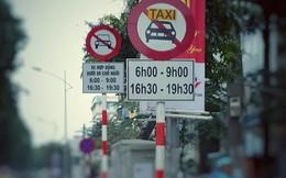 Cấm loại hình Uber, Grab hoạt động nhiều tuyến phố
