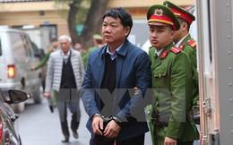 Hình ảnh ông Đinh La Thăng và đồng phạm bị dẫn giải ra tòa
