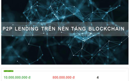 Cổ phiếu tăng 200% trong 1 tháng, dự án cho vay trên nền tảng blockchain của HVA mới huy động được 8%