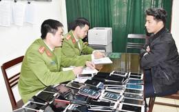 Lô điện thoại tiền tỷ nhập lậu từ Móng Cái về Ninh Bình