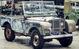 Land Rover sẽ phục chế chiếc xe 'kinh điển' đầu tiên của hãng