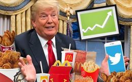 Tổng thống Trump vào Nhà Trắng, cổ phiếu những thứ ông thích tăng phi mã