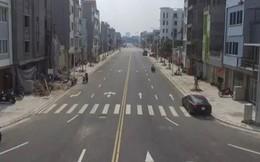Video: Con đường 600 m gần 200 tỷ đồng đẹp nhất quận Long Biên nhìn từ flycam