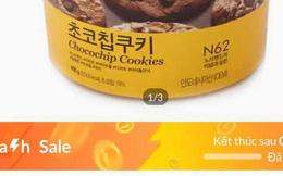"""Quảng cáo """"Flash sale"""", Lazada bán bánh quy giá trên trời?!"""