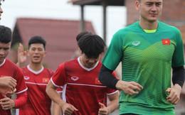 Sau trận thắng Malaysia, tuyển Việt Nam lao vào tập luyện ngay sáng nay để chuẩn bị so tài với Myanmar