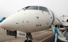 Bay thử nghiệm máy bay CRJ900 Bombardier tại Nội Bài