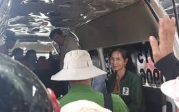 Đám cháy lại bốc lên sau vụ lật xe bồn chở xăng khiến 6 người chết ở Bình Phước