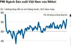 Nikkei: PMI sản xuất của Việt Nam lên sát kỷ lục trong tháng 11