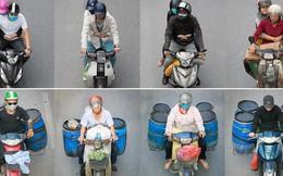 """Hình ảnh """"Người Hà Nội đi xe máy"""" bỗng trở nên vô cùng ấn tượng với góc máy trên cao"""
