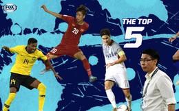 Thi đấu bùng nổ, Phan Văn Đức lọt top 5 do báo châu Á bầu chọn