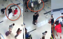 """4 nhân viên an ninh bị phạt tiền do thái độ """"đứng làm cảnh"""" khi nhân viên Vietjet bị đánh"""